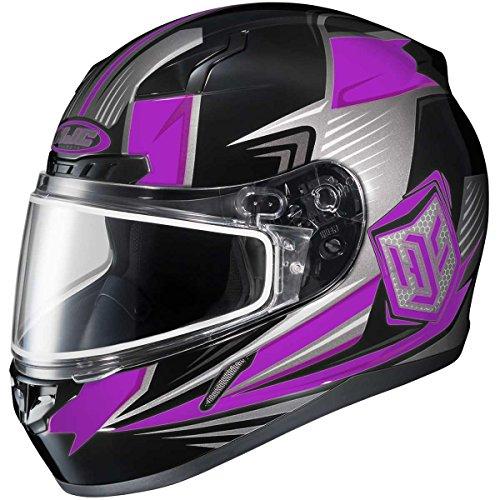 HJC Striker Adult CL-17 Snocross Snowmobile Helmet - MC-8  Large