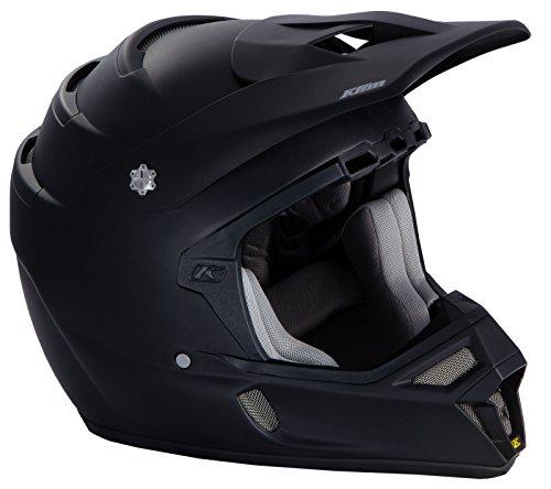 Klim Snell Mens F4 Snocross Snowmobile Helmet - Matte Black  X-Large