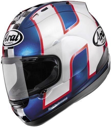 Arai Helmets Shield Cover Set for Corsair V Helmet - Haslam WSBK 2 SHLD CVR HASLAM BLU
