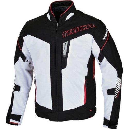 Rs Taichi Rsj302 White Black Ingram Mesh Men's Jacket Latest Spring Summer Collection (l)