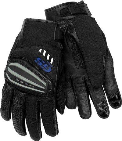 Bmw Genuine Motorcycle Motorrad Rallye Glove - Color: Black / Anthracite - Size: Eu 8 - 8 1/2 Us
