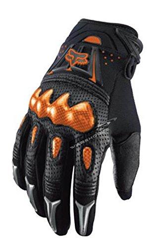 Fox Racing Bomber Men's Motox Motorcycle Gloves - Black/orange / Large