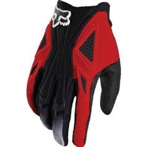 Fox Racing Flexair Men's Dirt Bike Motorcycle Gloves - Red / Medium