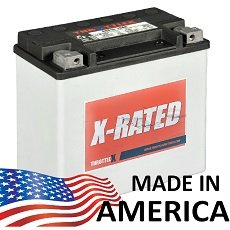 Throttlex Batteries - Hdx16 - Harley Davidson Replacement Motorcycle Battery