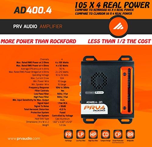 96-2013 Harley Davidson Motorcycle Car Stereo Radio Amplifier True 420 Watt Radio Stereo Adapter