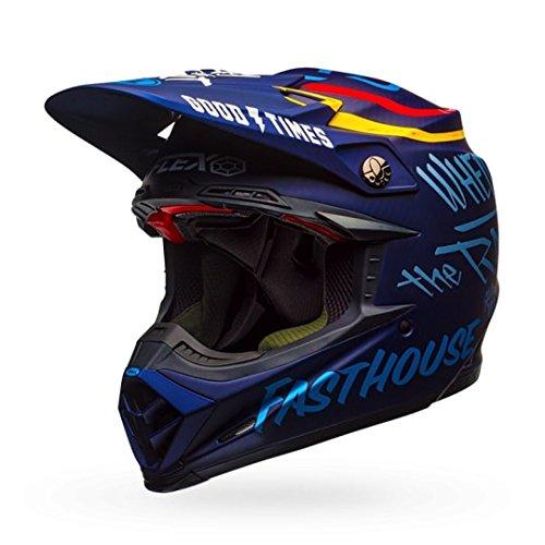 Bell Day In The Dirt Adult Moto-9 Flex Off-Road Motorcycle Helmet - Dark Blue  2X-Large