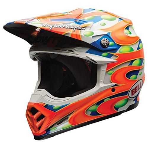 Bell Flex MC Replica Mens Moto-9 Off-Road Motorcycle Helmet - Orange  Large