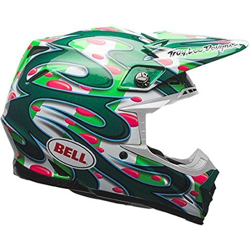 Bell Mens Moto-9 Flex McGrath Replica LE Motorcycle Helmet L