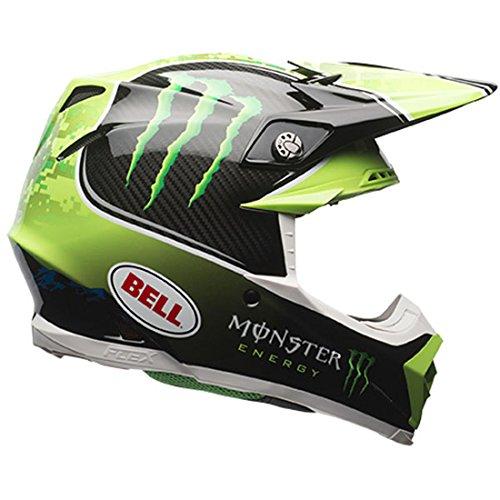 Bell Mens Moto-9 Flex Monster Pro Circuit LE Motorcycle Helmet XL