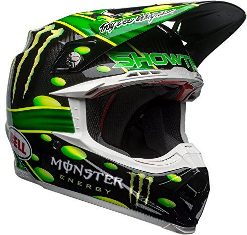 Bell Moto-9 Carbon Flex McGrath Monster Replica Off Road Motorcycle Helmet Size XXlarge