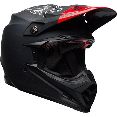 Bell Moto-9 Flex Adult Fasthouse DITD Off-Road Helmet - Matte BlackRed  Small