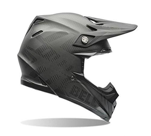 Bell Moto-9 Flex Carbon Matte Syndrome Black OffroadMotorcycle Helmet Size Medium
