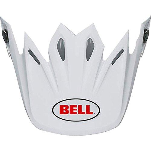 Bell Moto-9 Flex Solid Visor Motorcycle Helmet Accessories - White  One Size