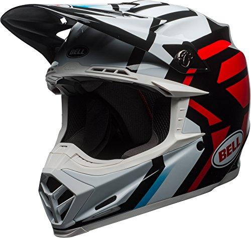 Bell Moto-9 Mips District White Black Red Off Road Motorcycle Helmet Size Medium