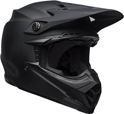 Bell Moto-9 Mips Solid Matte Black Off Road Motorcycle Helmet Size Medium