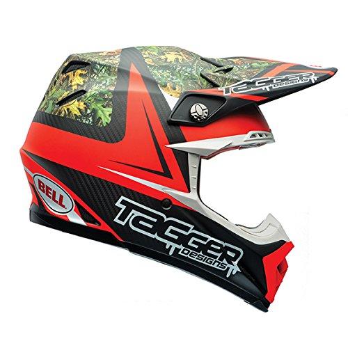Bell Moto-9 Unisex-Adult Off Road Helmet Tagger Rekluse Large DOT-Certified