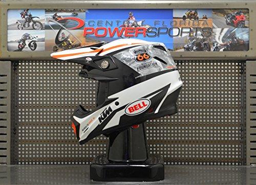 KTM Bell Moto 9 Carbon Flex Kurt Caselli Foundation Motocross Helmet Size Medium