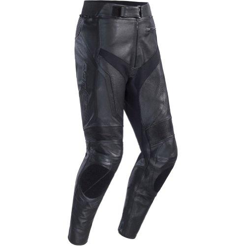 Cortech Adrenaline Men's Leather On-road Motorcycle Pants - Black / Large