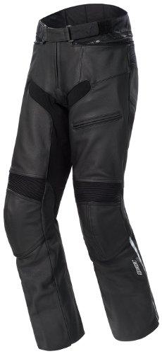 Joe Rocket Pro Street Men's Leather Motorcycle Drag Pants (black, Size 42)