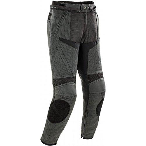 Joe Rocket Stealth Sport Men's Leather Perforated Motorcycle Pants (black, Size 34)