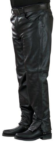 Mossi Inseam Men's Leather Pants (black, Size 30)
