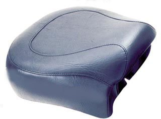 Mustang Motorcycle Seats Wide Touring Vintage Rear Seat for 1996-2003 Harley Davidson Sportster