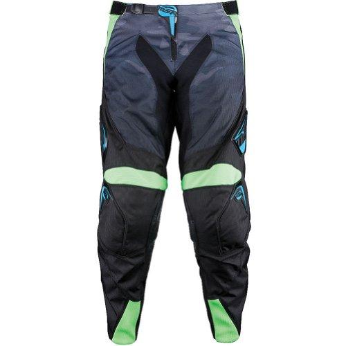 Msr Racing Renegade Men's Mx Motorcycle Pants - Black/green / Size 34