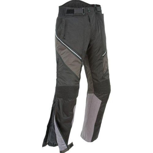 Joe Rocket Alter Ego 2.0 Men's Textile Sports Bike Racing Motorcycle Pants - Black / 2x-large