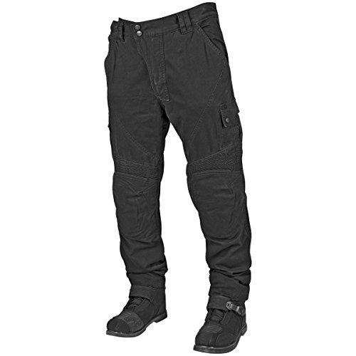 Speed And Strength Dog Of War Men's Textile Street Bike Motorcyle Pants - Black / Size 38x34