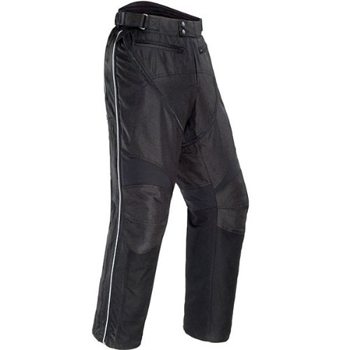 Tour Master Flex Men's Textile Sports Bike Racing Motorcycle Pants - Black / 2x-large