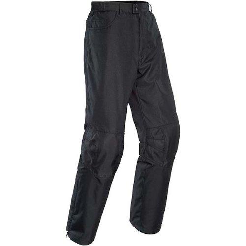 Tour Master Quest Men's Textile Street Motorcycle Pants - Black / Small