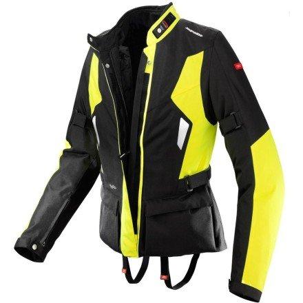 SPIDI Womens Voyager H2OUT Jacket MEDIUM HI-VIZ YELLOW