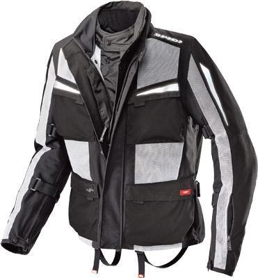 Spidi Sport SRL Net Force H2Out Jacket  Size XL Distinct Name BlackGray Gender MensUnisex Apparel Material Textile Primary Color Black D100-010-X