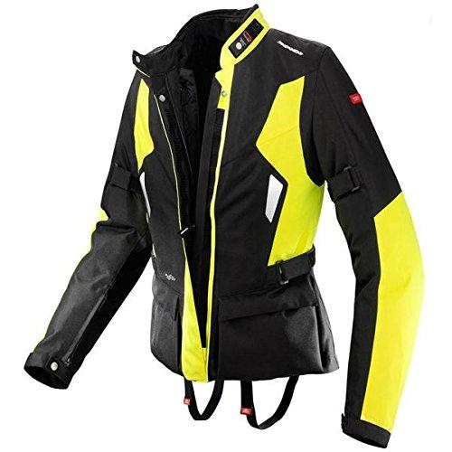 Spidi Voyager H2Out Womens BlackHi-Viz Yellow Textile Jacket - Medium