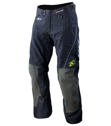 2013 Klim Adventure Rally Motorcycle Pants - Regular - Black - 40