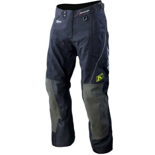2013 Klim Adventure Rally Motorcycle Pants - Tall - Black - 38