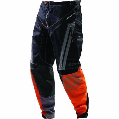 Troy Lee Designs Adventure Men's Motox Motorcycle Pants - Orange / Size 34