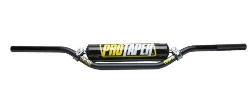 Black Pro Taper Handlebars with Pad and Keepitroostin Sticker Fits Kawasaki Kx80 Kx85 Kx100 1990-2014