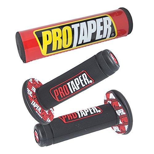 Universal Handle Grips Pads Set Pro Taper Handlebar Pad fit Dirt Pit Bike Motorcross 78 inch Rubber GEL Hand Grips