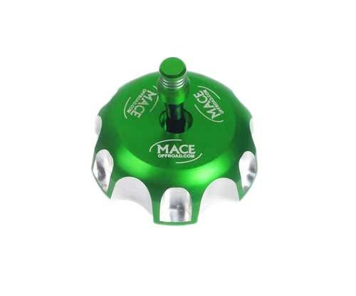 Green Cnc Billet Fuel Gas Cap For Kawasaki Kx450f Kx250f Kfx 450r Kx250 Klx450r