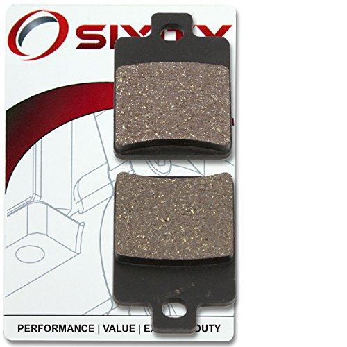 Sixity Front Ceramic Brake Pads 2001-2004 Vespa ET4 Set Full Kit 150cc Complete