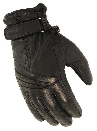 First Manufacturing Ladies Waterproof Gauntlet Gloves Black Medium