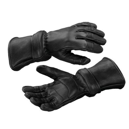 Mossi Zip-Off Gauntlet Gloves Black XXX-Large