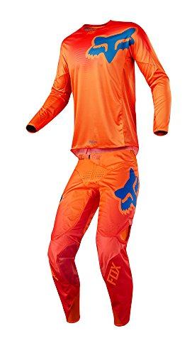 Fox Racing 2018 360 Viza Combo Jersey Pants Adult Mens MX ATV Offroad Dirtbike Motocross Riding Gear Orange