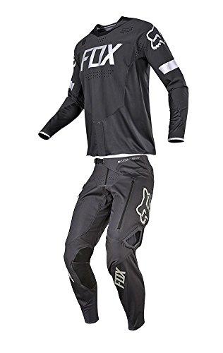 Fox Racing 2018 Legion Combo Jersey Pants Charcoal Mens ATV MX Offroad Dirtbike Motocross Riding Gear Small32W