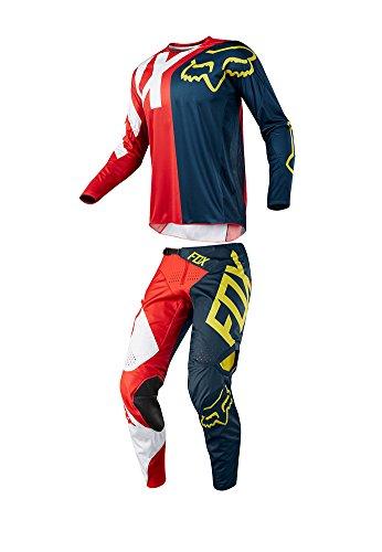 Fox Racing 2018 Youth 360 Preme Combo Jersey Pants ATV MX Offroad Dirtbike Motocross Riding Gear NavyRed