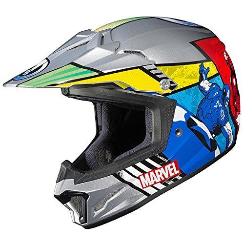 HJC CL-XY 2 Marvel Comics Avengers Youth Motocross Helmet - Medium