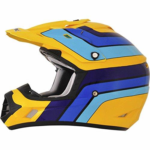 AFX FX-17 Vintage Suzuki Factor Mens Motocross Helmets - X-Large