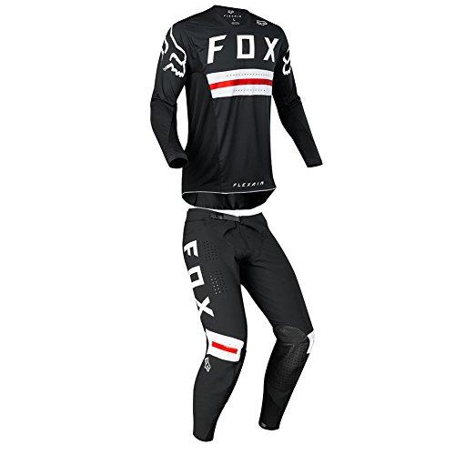 Fox Racing 2018 Flexair Preest Limited Edition BlackRed MX Racing Suit Jersey Pants Combo-Medium30