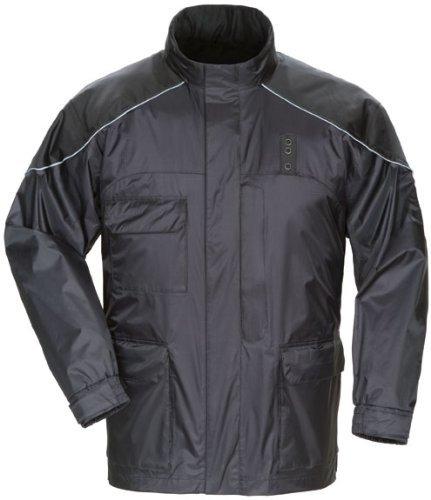 Tourmaster Sentinel LE Black Rain Jacket size X-Large